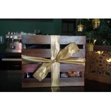 Caja de regalo rústica